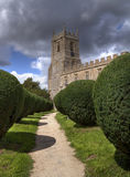 Warwickshire church Royalty Free Stock Photo