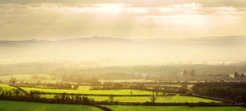 Warwickshire countryside Royalty Free Stock Images