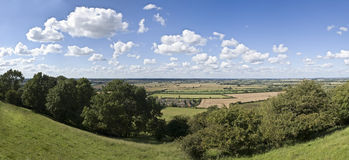 Warwickshire countryside Royalty Free Stock Photo