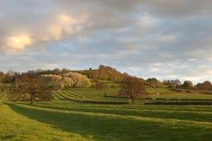 Warwickshire countryside Stock Image