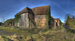 Warwickshire hay barn Stock Photo