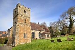 Warwickshire-Kirche Lizenzfreie Stockfotos
