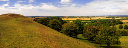 Warwickshire-Landschaft Stockfotos