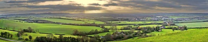 Warwickshire-Landschaft Lizenzfreie Stockfotos