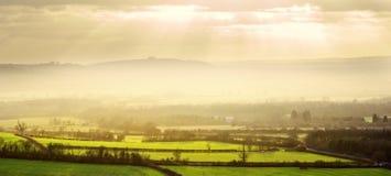Warwickshire-Landschaft Lizenzfreie Stockbilder