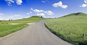 Warwickshire-Landschaft Lizenzfreies Stockfoto