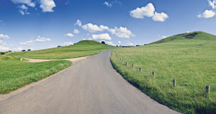 Warwickshire-Landschaft Stockbild