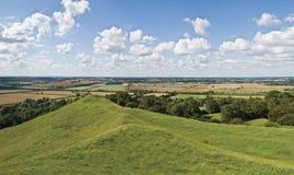 Warwickshire-Landschaft Lizenzfreies Stockbild