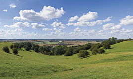 Warwickshire platteland Stock Afbeelding