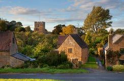 Warwickshire village Stock Image