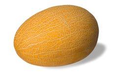 Warzenmelone auf Weiß Stockfoto