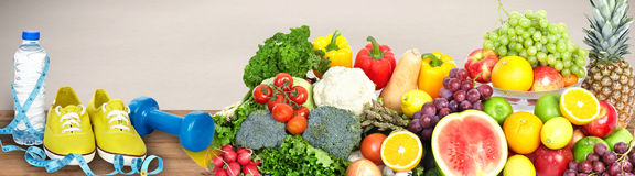 Warzyw i owoc tło zdjęcia royalty free