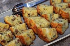 Warzyw muffins Zdjęcia Royalty Free