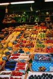 warzywa świeże owoce Fotografia Stock