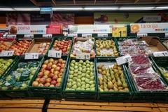 warzywa świeże owoce zdjęcie stock