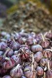warzywa świeże owoce garlics Fotografia Stock