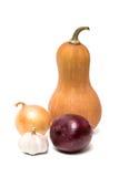warzywa białe tło Zdjęcie Stock
