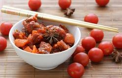 warzywa cherr wołowiny fotografia stock