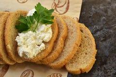 Warzywa dieta Cytryna, chałupa ser, dieta chleb Zdjęcie Royalty Free