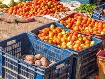 Warzywa Dla sprzedaży na ulicie w Kathmandu Fotografia Royalty Free