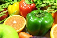 Warzywa i owoc Obrazy Royalty Free
