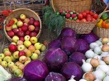 Warzywa i owoc Zdjęcia Royalty Free