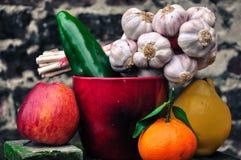 Warzywa 7 i owoc Zdjęcia Stock