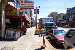 Warzywa i owoc sklep w San Fransisco Zdjęcia Royalty Free