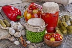 warzywa konserwowane fotografia royalty free