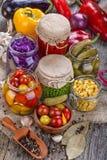 warzywa konserwowane obraz royalty free