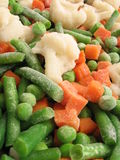 warzywa mrożone Obrazy Stock
