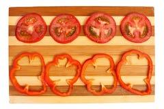 Warzywa na desce Obraz Royalty Free