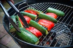 Warzywa na grillu Obraz Royalty Free