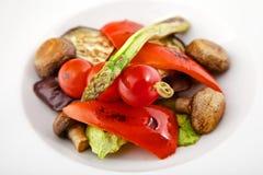 Warzywa na grillu Zdjęcia Royalty Free
