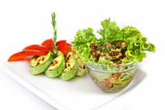 Warzywa na grillu Obrazy Stock