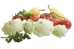 Warzywa odizolowywający na białym tle Zdjęcie Royalty Free