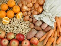 Warzywa, owoc wciąż życie Zdjęcia Royalty Free