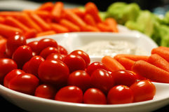 warzywa półmiska Fotografia Royalty Free