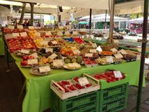 Warzywa przy Rolnika Rynkiem Zdjęcia Royalty Free