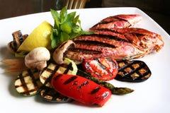 warzywa ryb zdjęcie royalty free
