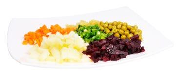 Warzywa sałatkowi Fotografia Royalty Free