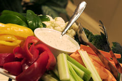 warzywa sałatkowy Fotografia Royalty Free