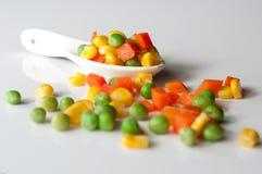 Warzywa trzy koloru Fotografia Stock