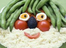 warzywa twarzy Obraz Royalty Free