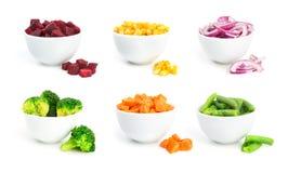 Warzywa ustawiają 2 Fotografia Royalty Free