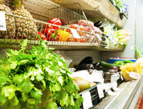 Warzywa w sklepie obraz royalty free