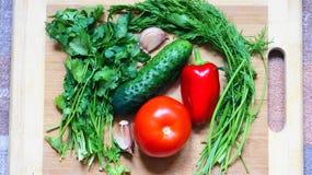warzywa żyje Zdjęcia Royalty Free