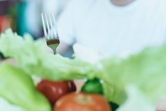 Warzywa zakończenie, dieta, zdrowa i zdrowa Obraz Stock