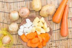 Warzywo dla kucharstwa zdjęcia royalty free