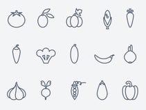 Warzywo ikony Obraz Stock